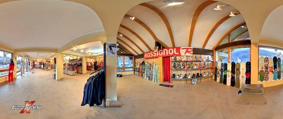 Магазин Rossignol в Красной Поляне