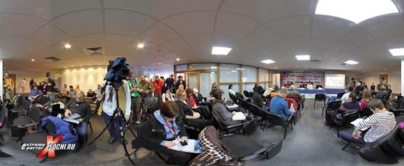 Виртуальная панорама пресс-конференции