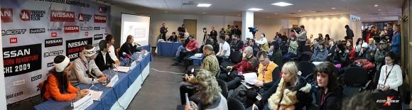 Пресс-конференция в Красной поляне
