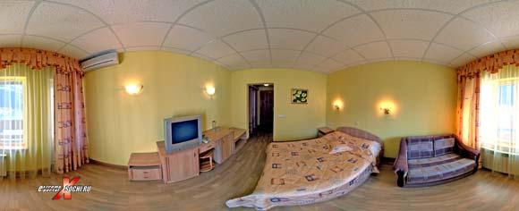 """Виртуальная панорама:гостиница """"Осьминог"""" - номер 2, 960 кб"""