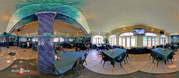 "Виртуальная панорама: гостиница ""Осьминог"", кафе (1,15 мб)"