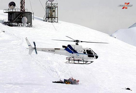 Eurocopter в Красной Поляне